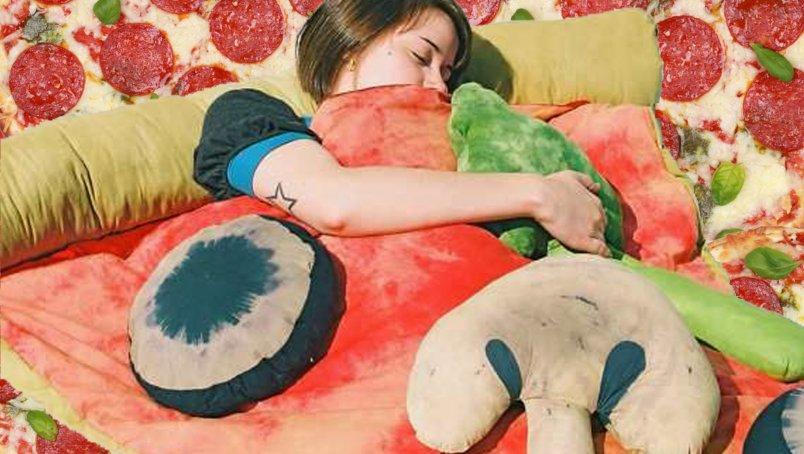 Pizzapunt slaapzak