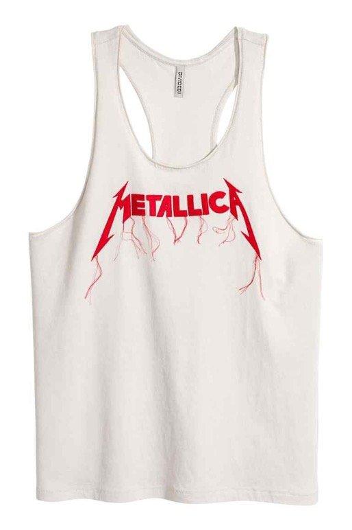 H&M bandshirt Metallica tanktop