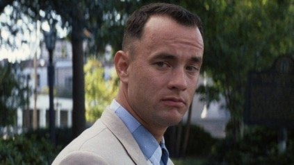 Forrest uit de film Forrest Gump 1994