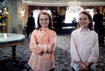 scene uit de film The Parent Trap