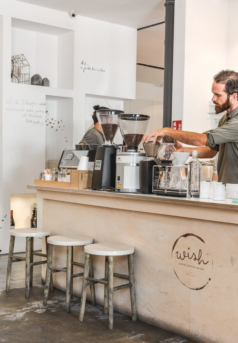 Wish Slow Coffee House koffietentje Lissabon