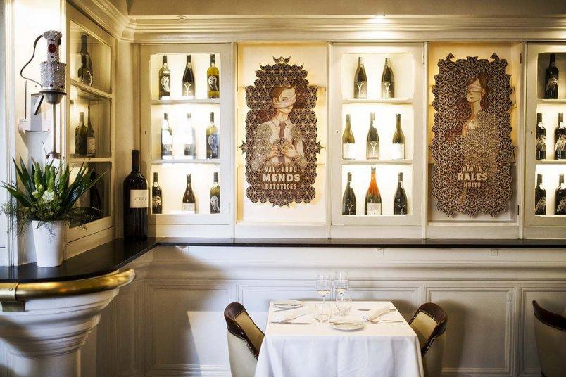 Bistro 100 Maneiras restaurant Lissabon