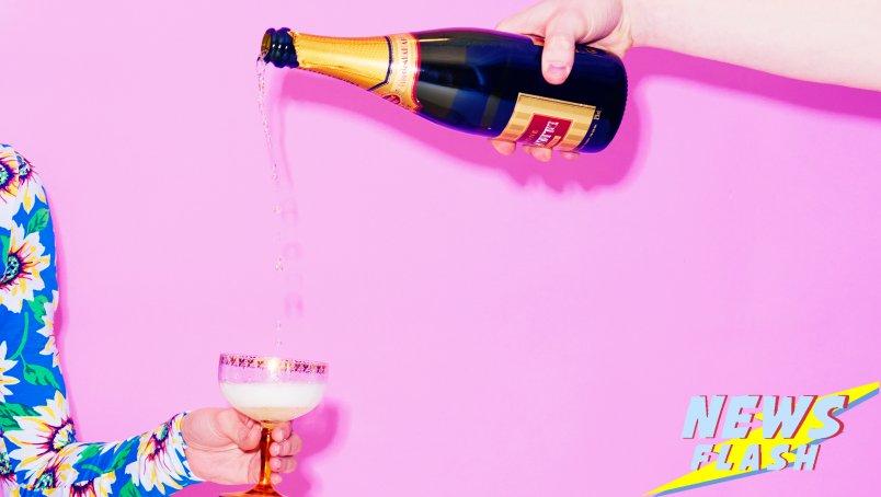 Aan de champagne met Lidl