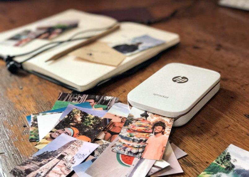 HP Sprocket telefoonfoto's printen