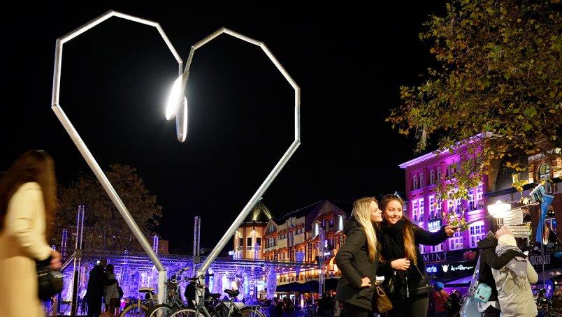 Shine bright: lichtkunstfestivals
