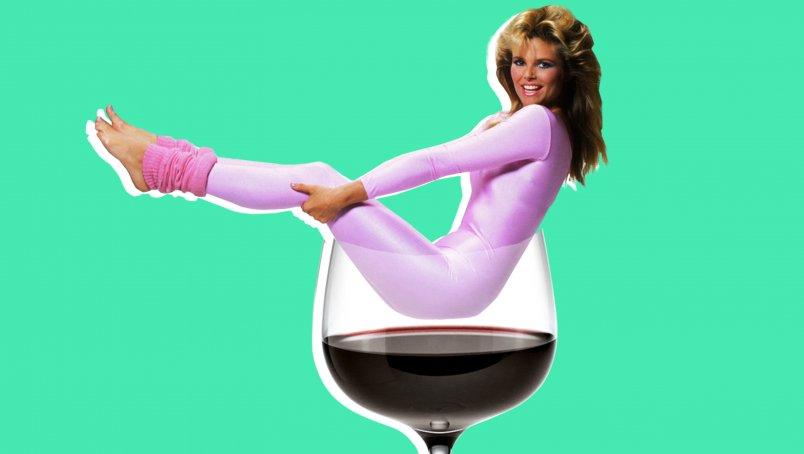 Wine yoga o'clock?