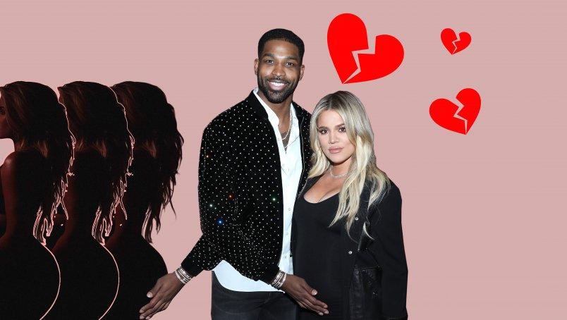 Khloé Kardashian en Tristan Thompson