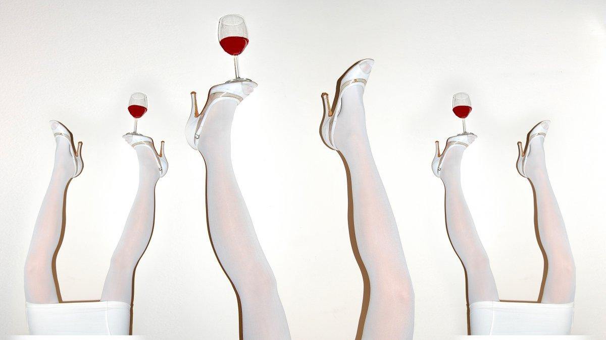 rode wijn mond trucs