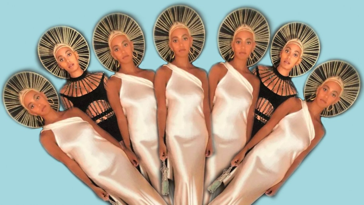 Solange Met Gala outfit