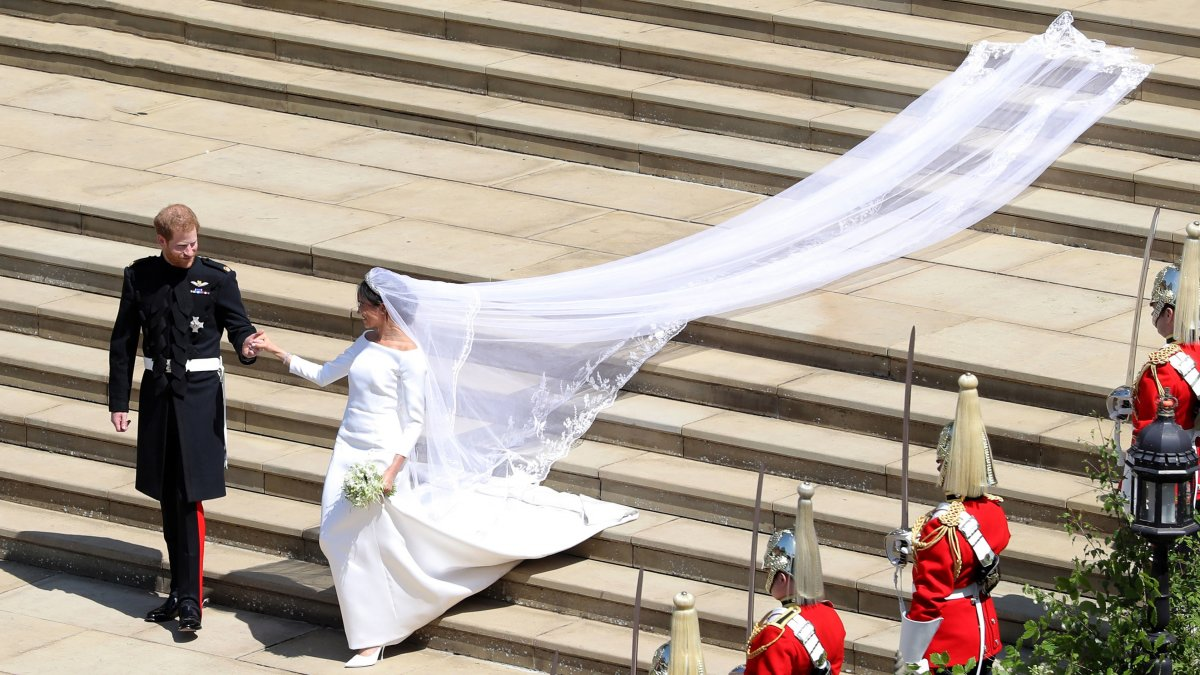 Meghan Markle trouwjurk kopie