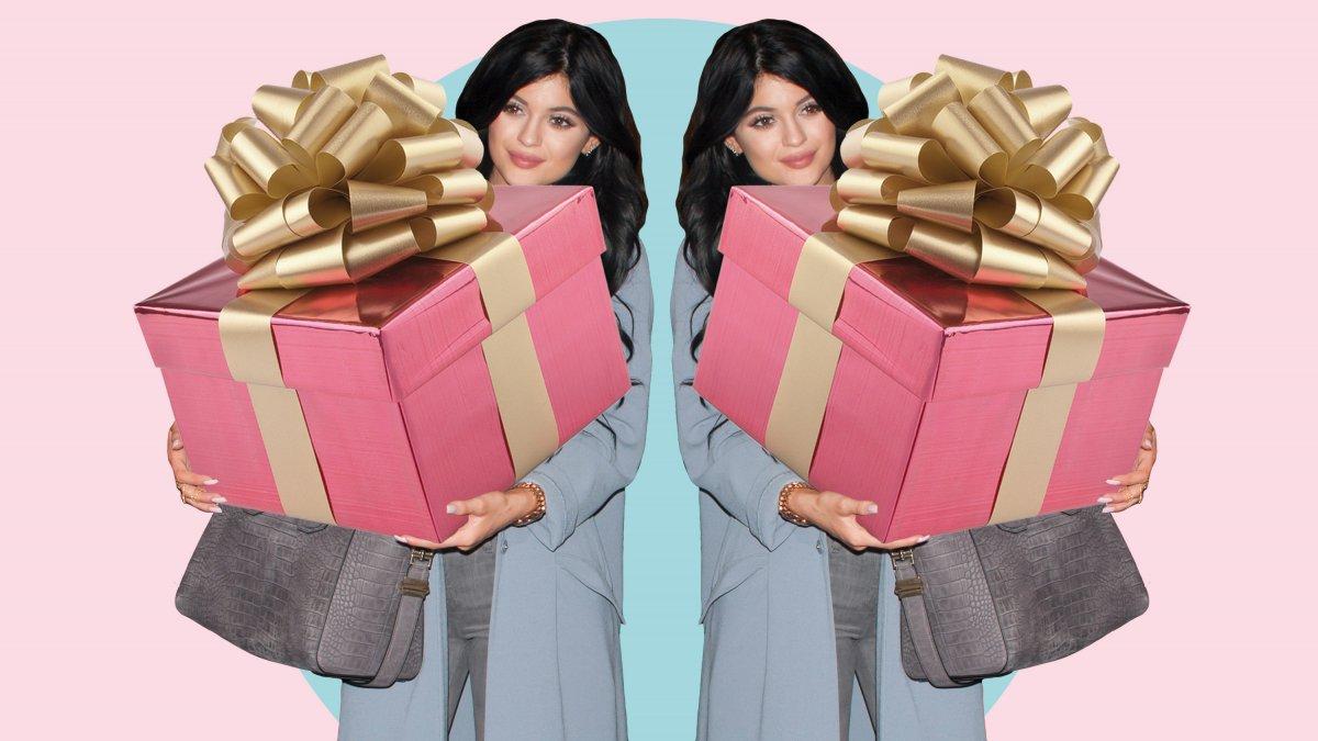 Kylie Jenner cadeau fan
