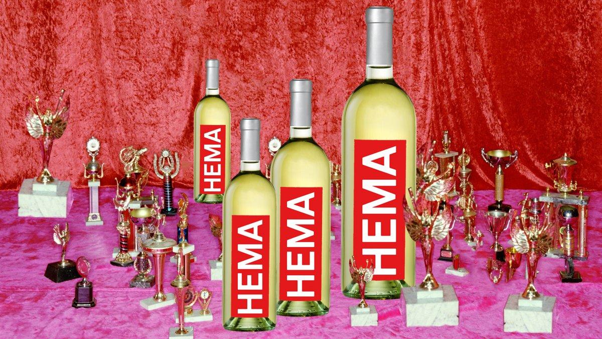 HEMA wijn prijs