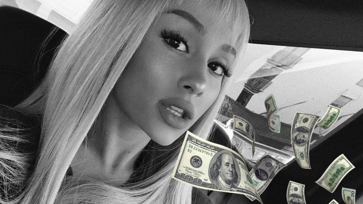 Ariana Grande inkomsten