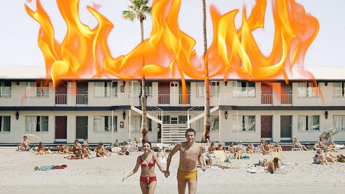 Vakantieleed: Diana's hotel op Zanzibar brandde op dag één af