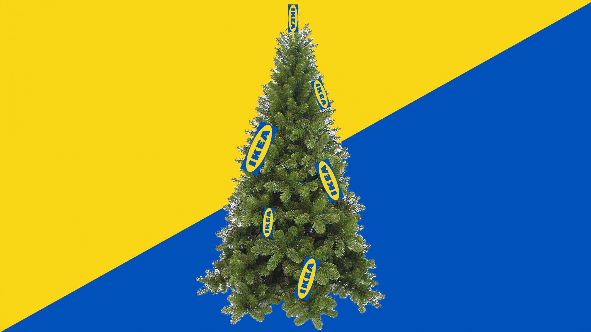 O Dennenboom Bij Ikea Scoor Je Een Kerstboom Voor 1 Euro C