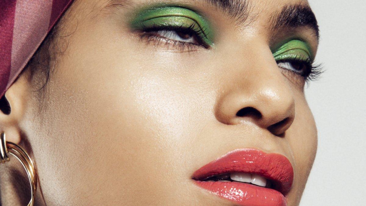 meerkleurige make-up