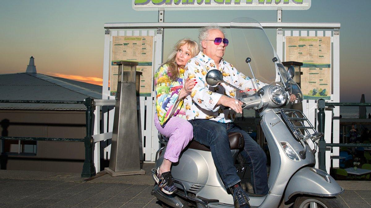 Zonaanbidders scooter
