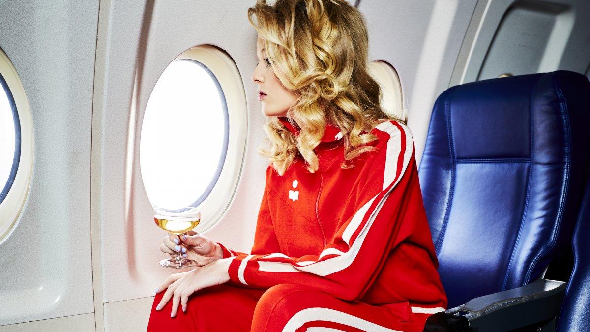 ziek in vliegtuig