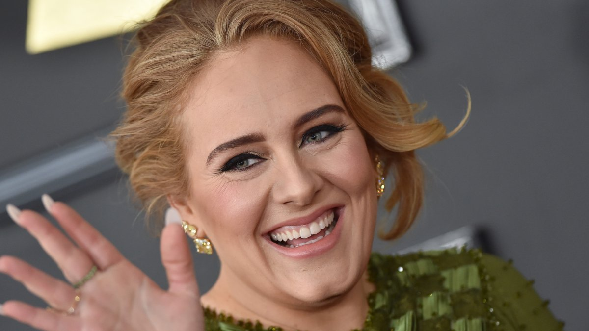 Adele afgevallen