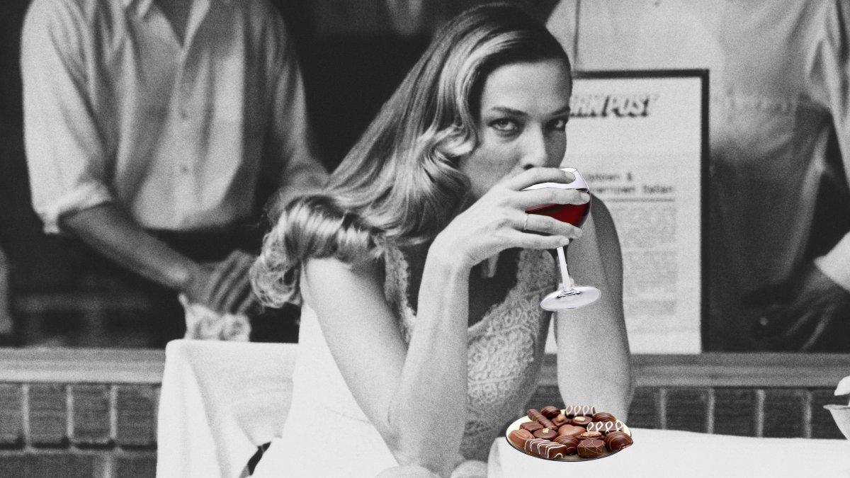 Dieet rode wijn en chocola
