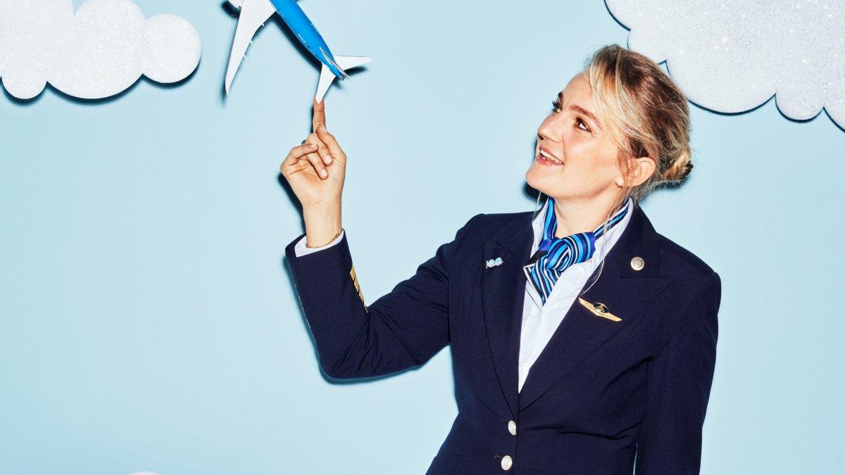 Vrouwelijke piloot