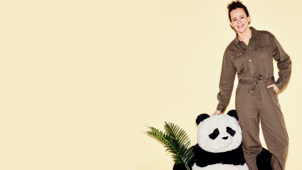 Pandaverzorger Brenda