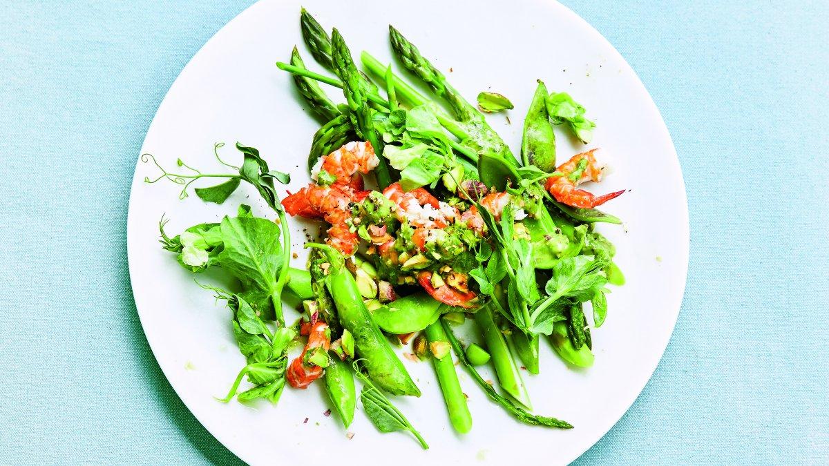 Salade garnalen