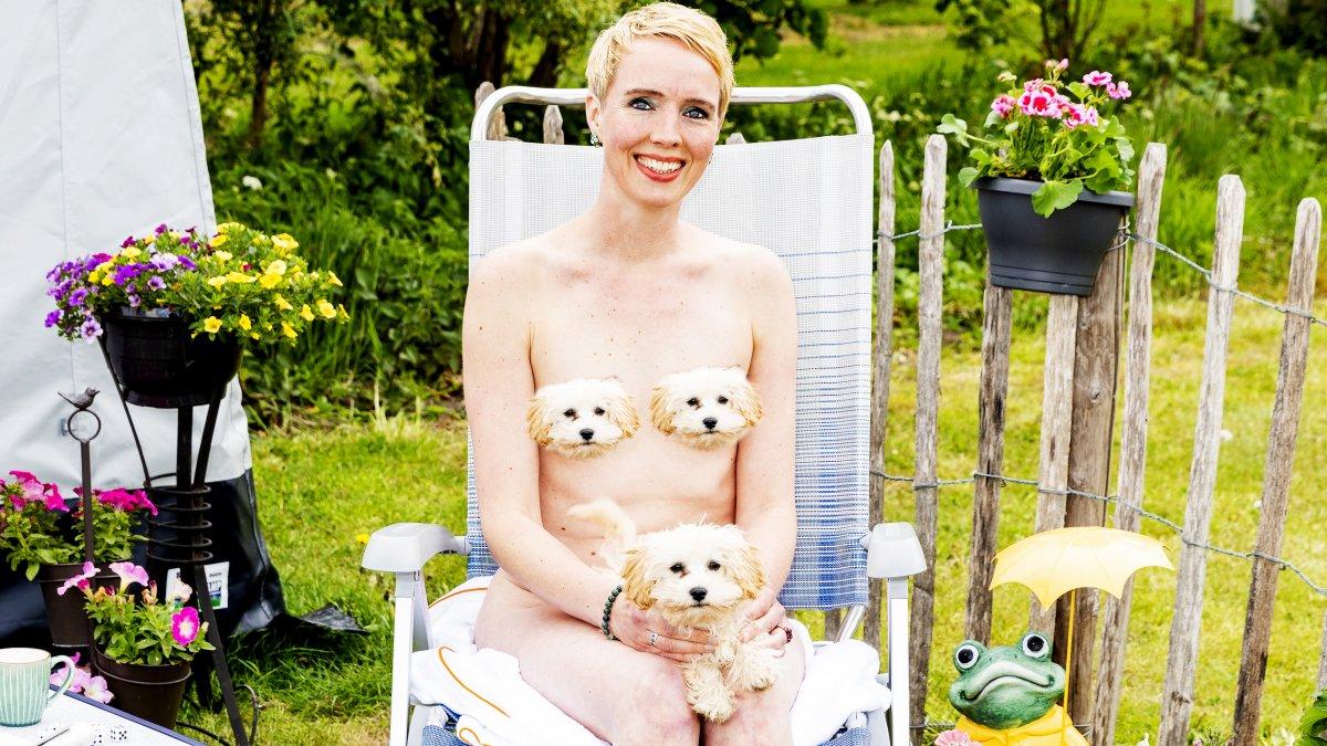 Interview nudist Anna