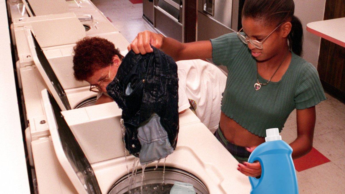 wasmachine bakje