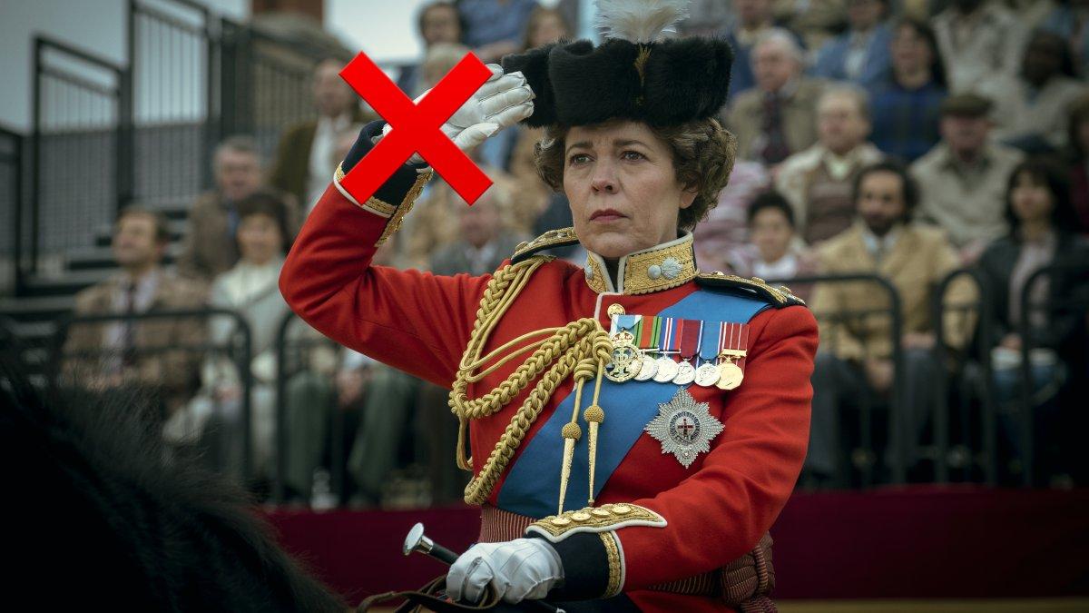 Fouten The Crown