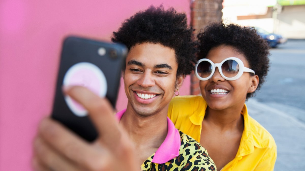 Selfie omgedraaid iPhone