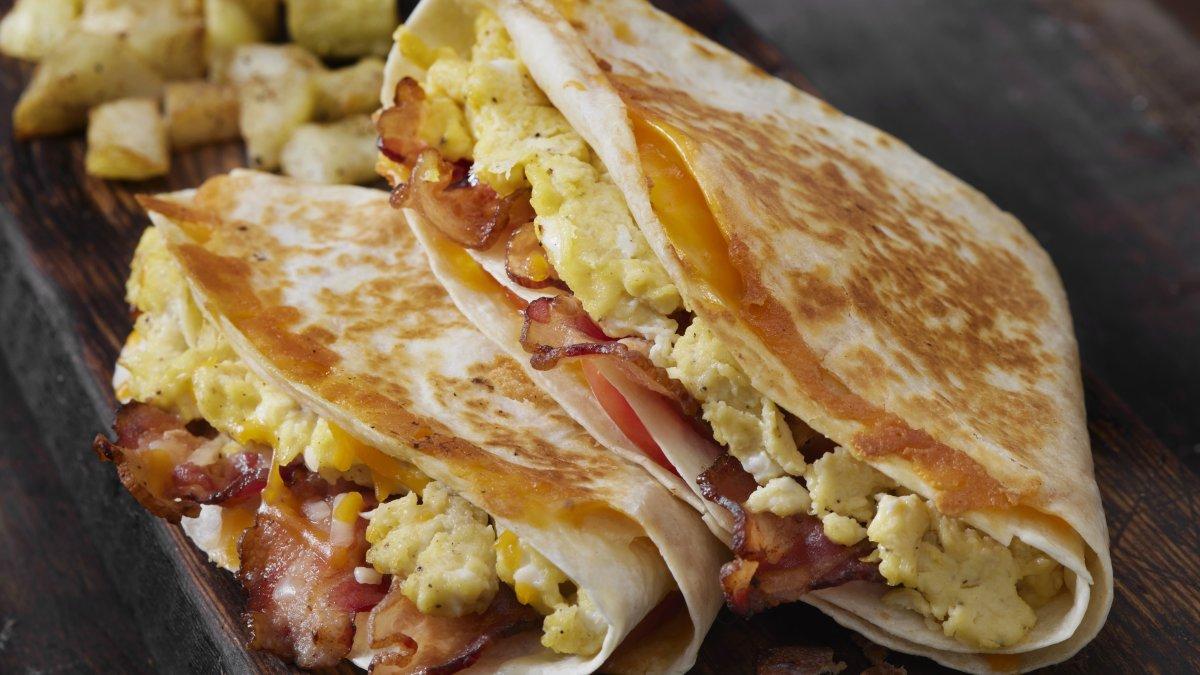 Tortilla-eiwrap