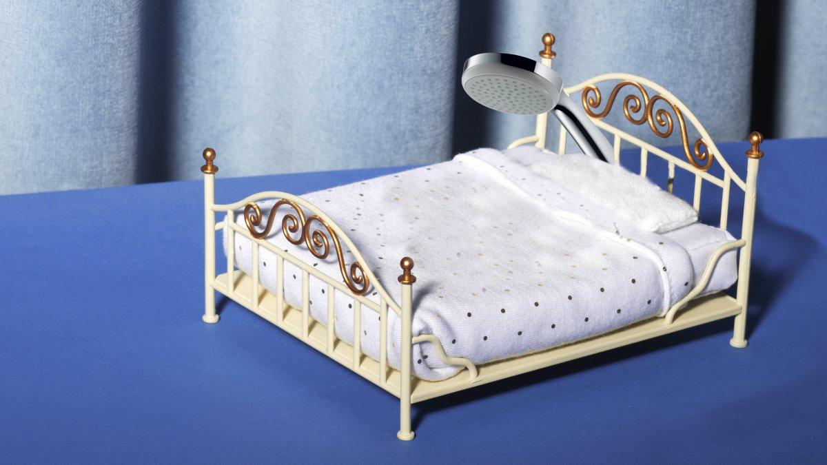 Douchen voor het slapengaan, sneller in slaap vallen, TikTok