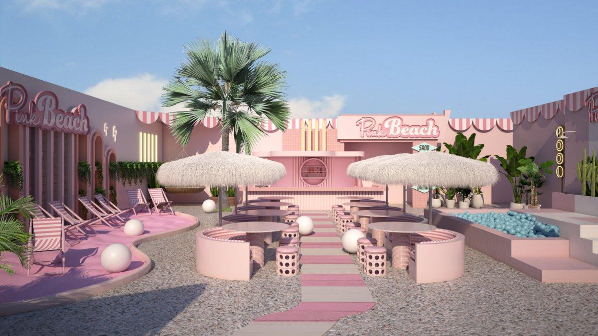 Pink Beach, WONDR