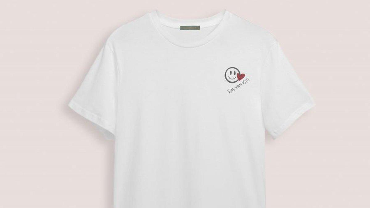 Kus voor Kiki, T-shirt, goede doel