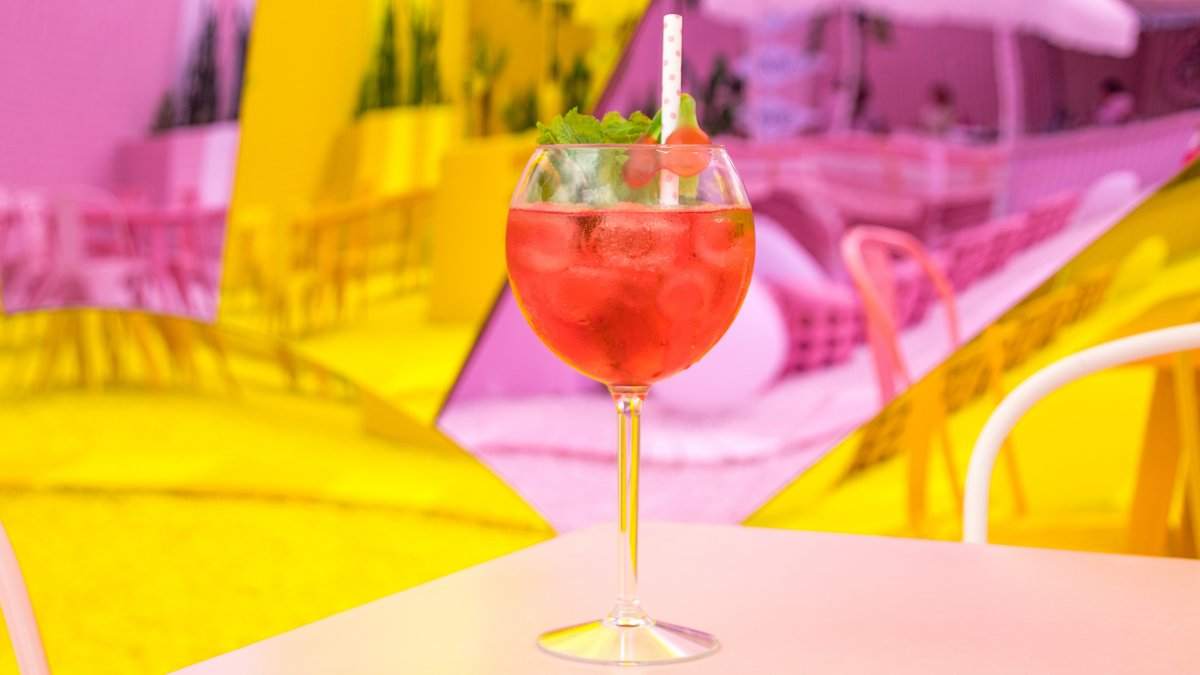 cocktail, Pink Beach